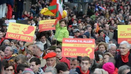 Tuần hành phản đối nạo phá thai tại Paris