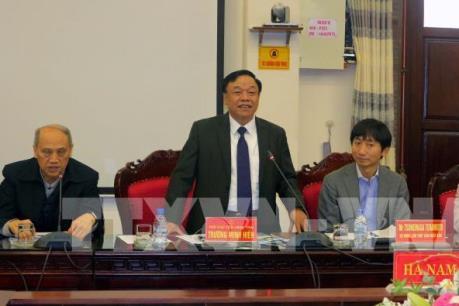 Doanh nghiệp Nhật Bản khảo sát môi trường đầu tư tại Hà Nam