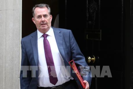 Bộ trưởng Thương mại Anh nỗ lực ký FTA mới sau Brexit