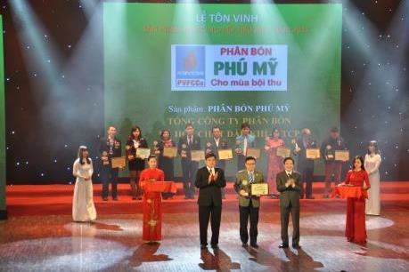 Đạm Phú Mỹ nhận giải thưởng kép