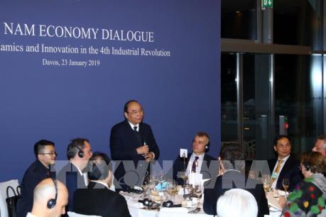 Thủ tướng Nguyễn Xuân Phúc: Việt Nam ủng hộ những ý tưởng, mô hình kinh doanh đột phá