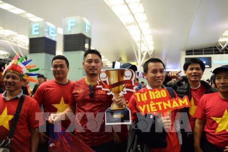 ASIAN CUP 2019: Cổ động viên lên đường sang UEA cổ vũ đội tuyển Việt Nam