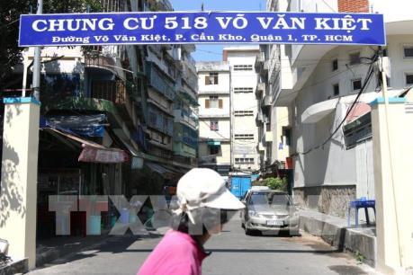 TP Hồ Chí Minh: Hôm nay di dời toàn bộ dân ra khỏi chung cư nghiêng lún
