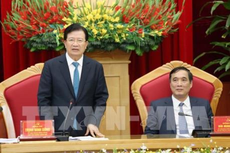Phó Thủ tướng: Phú Thọ nên lấy công nghiệp làm nền tảng để phát triển
