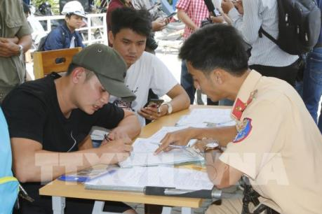 Tp. Hồ Chí Minh đưa tài xế dương tính với ma túy ở cảng Cát Lái đi cai nghiện