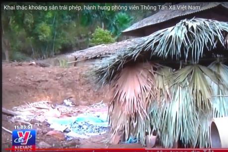 Cần làm rõ việc phóng viên Thông tấn xã Việt Nam bị đe dọa, hành hung khi đang tác nghiệp