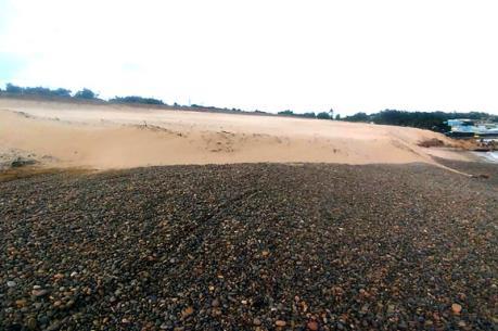 Thông tin về vụ vi phạm đất đai tại khu vực bãi đá 7 màu