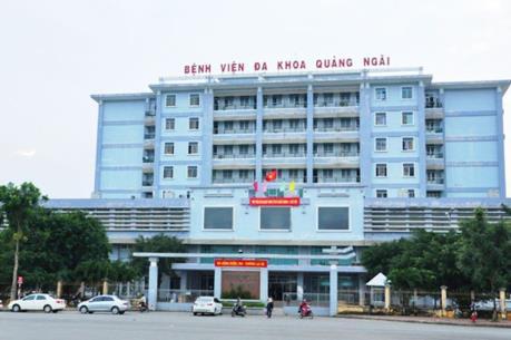 Báo cáo Thủ tướng việc sáp nhập Bệnh viện đa khoa TP Quảng Ngãi