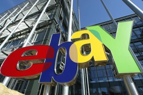 Doanh số của EBay dự kiến đạt thấp hơn kỳ vọng