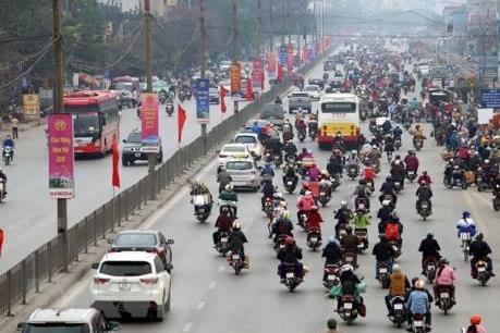 Cấm xe máy nội đô Hà Nội năm 2030: Không thể trì hoãn