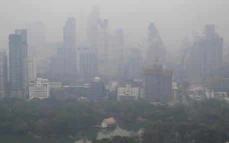 Hàng trăm trường học Thái Lan phải đóng cửa do ô nhiễm không khí