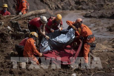 Vụ vỡ đập tại Brazil: 166 người thiệt mạng và 155 người mất tích