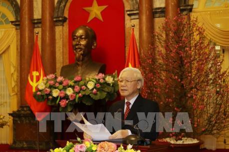 Tổng Bí thư, Chủ tịch nước: Đất nước bước vào mùa xuân mới với tâm thế và quyết tâm lớn