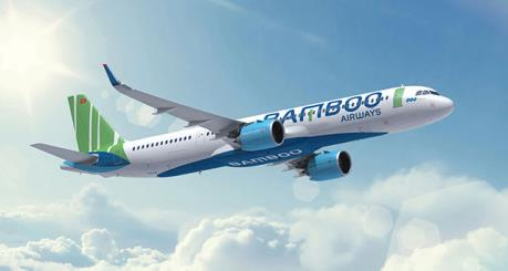 Bamboo Airways tăng thêm chuyến bay đêm Hà Nội-Tp. Hồ Chí Minh