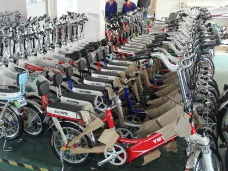 Áp dụng thuế đối với xe đạp điện nhập khẩu từ Trung Quốc