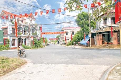 Khởi sắc nông thôn mới Thái Bình