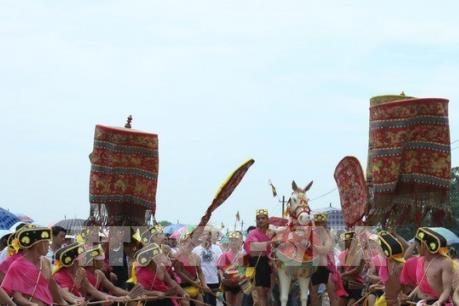 Khai hội Gióng đền Sóc Sơn (Hà Nội)
