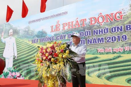 Tổng Bí thư, Chủ tịch nước: Trồng cây mang lại lợi ích to lớn cho đất nước