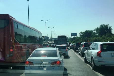 Cao tốc TP Hồ Chí Minh – Long Thành – Dầu Giây đông đúc, lưu thông chậm