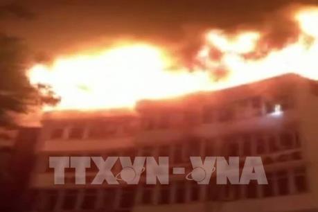 Vụ cháy khách sạn ở Ấn Độ: Con số thương vong tiếp tục tăng