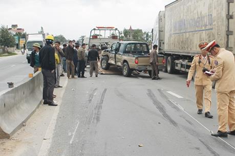 Tai nạn giao thông trên Quốc lộ 1A làm 3 người tử vong