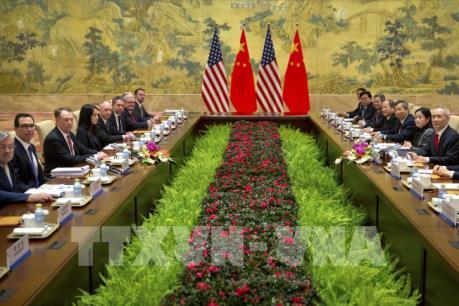 Mỹ - Trung tiếp tục vòng đàm phán thương mại cấp cao