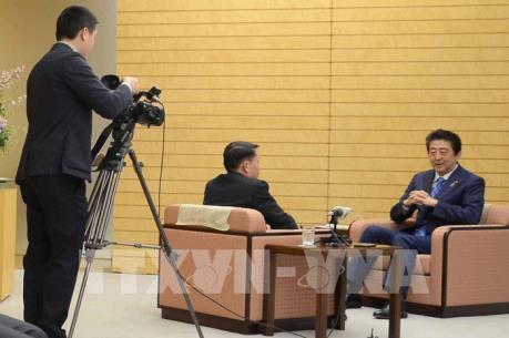 Đoàn đại biểu TTXVN thăm và làm việc tại Nhật Bản