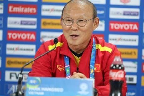 Huấn luyện viên Park Hang Seo đã trở lại Việt Nam sau kỳ nghỉ Tết