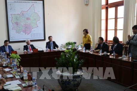 Doanh nghiệp Hàn Quốc, Trung Quốc xúc tiến đầu tư vào Bình Phước