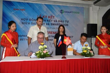 Lần đầu tiên Việt Nam cung cấp suất ăn sẵn ra nước ngoài