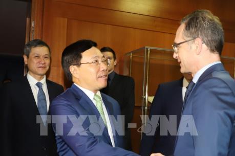 Đức sẽ thúc đẩy việc ký và phê chuẩn EVFTA