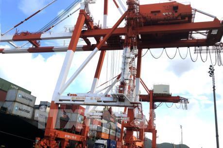 Cảng Quy Nhơn lần đầu đón tấn hàng thứ 9 triệu trong cả năm