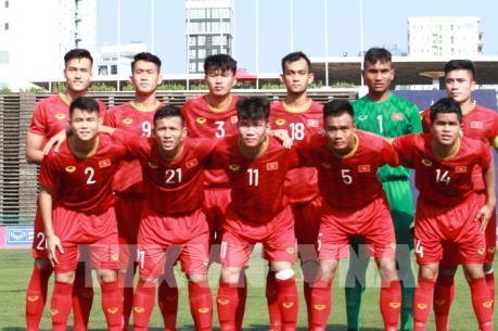 Việt Nam vào bán kết U22 Đông Nam Á 2019 với ngôi nhất bảng A