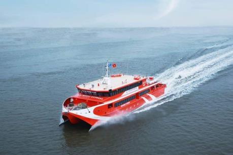 Tàu cao tốc tuyến Vũng Tàu - Côn Đảo hoạt động trở lại