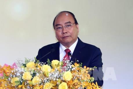 Thủ tướng Nguyễn Xuân Phúc dự Hội nghị gặp mặt các nhà đầu tư Xuân Kỷ Hợi 2019 tại Nghệ An