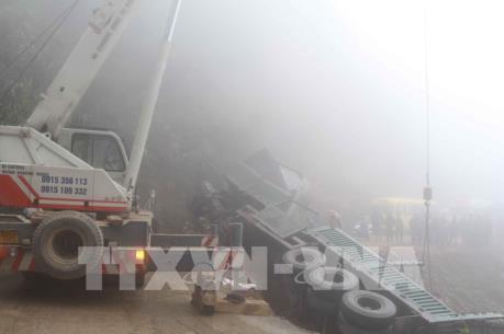 Quốc lộ 34 Cao Bằng đi Bảo Lâm tê liệt hơn một ngày