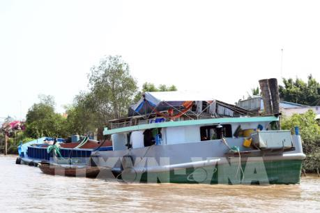 3 doanh nghiệp bị chấm dứt hiệu lực Giấy phép khai thác cát trên sông Đồng Nai