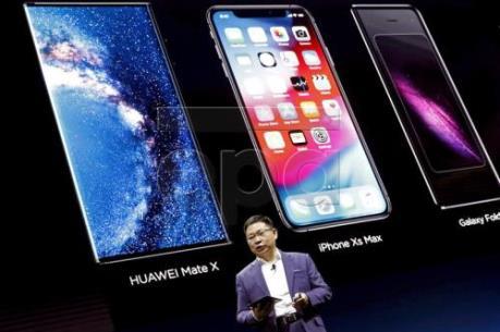 """Huawei """"trình làng"""" dòng điện thoại thông minh 5G mới"""