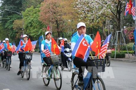 Người Hà Nội đồng hành cùng Hội nghị Thượng đỉnh Hoa Kỳ - Triều Tiên lần hai