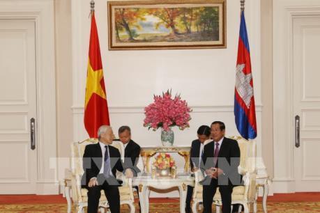 Tuyên bố chung CHXHCN Việt nam - Vương quốc Campuchia