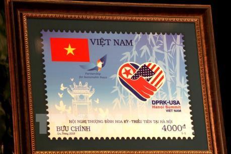"""Phát hành bộ tem đặc biệt """"Chào mừng Hội nghị Thượng đỉnh Hoa Kỳ-Triều Tiên tại Hà Nội"""""""