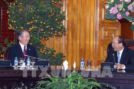 Thủ tướng tiếp Chủ tịch Uỷ ban Hợp tác kinh tế Nhật Bản - Mê Công