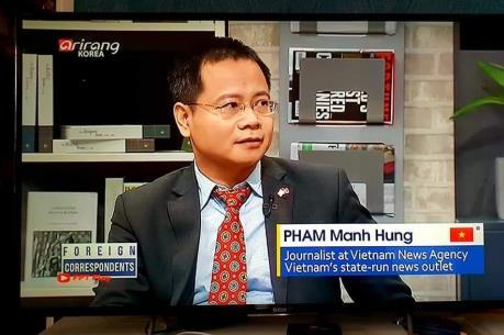 Hội nghị Thượng đỉnh Mỹ-Triều lần 2: Phóng viên TTXVN chia sẻ thông tin với khán giả Hàn
