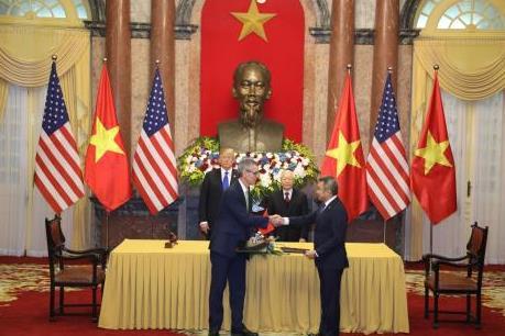 Thượng đỉnh Mỹ-Triều lần 2: Vietnam Airlines và Sabre ký kết hợp tác trị giá 300 triệu USD