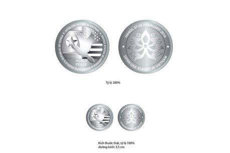 Phát hành Bộ sản phẩm đồng xu bạc chào mừng Hội nghị Thượng đỉnh Hoa Kỳ-Triều Tiên lần hai