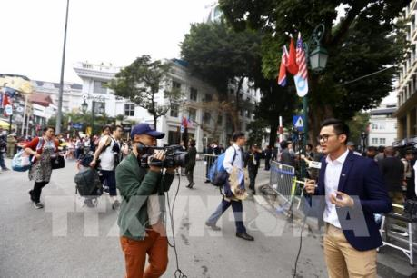 Hội nghị Thượng đỉnh Mỹ - Triều lần hai: Cuộc chạy đua 'săn' tin