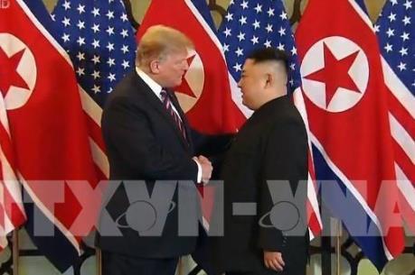 Tổng thống Donald Trump khẳng định quan hệ rất tốt đẹp với nhà lãnh đạo Kim Jong-un