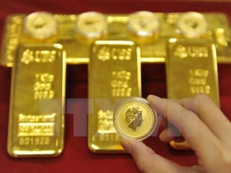 Giá vàng thế giới ngày 27/2 xuống mức thấp nhất trong gần hai tuần