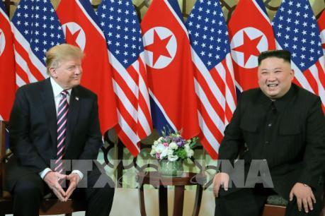 Cuộc gặp một-một giữa Tổng thống Mỹ Donald Trump và Chủ tịch Triều Tiên Kim Jong-un