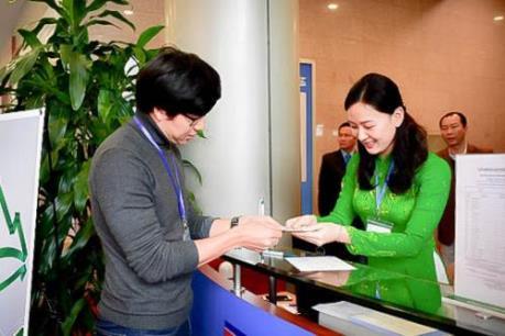 Ngân hàng duy nhất phục vụ dịch vụ tiền tệ tại TT báo chí Hội nghị Thượng đỉnh Mỹ-Triều